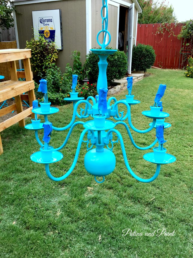 turquoise chandelier 5