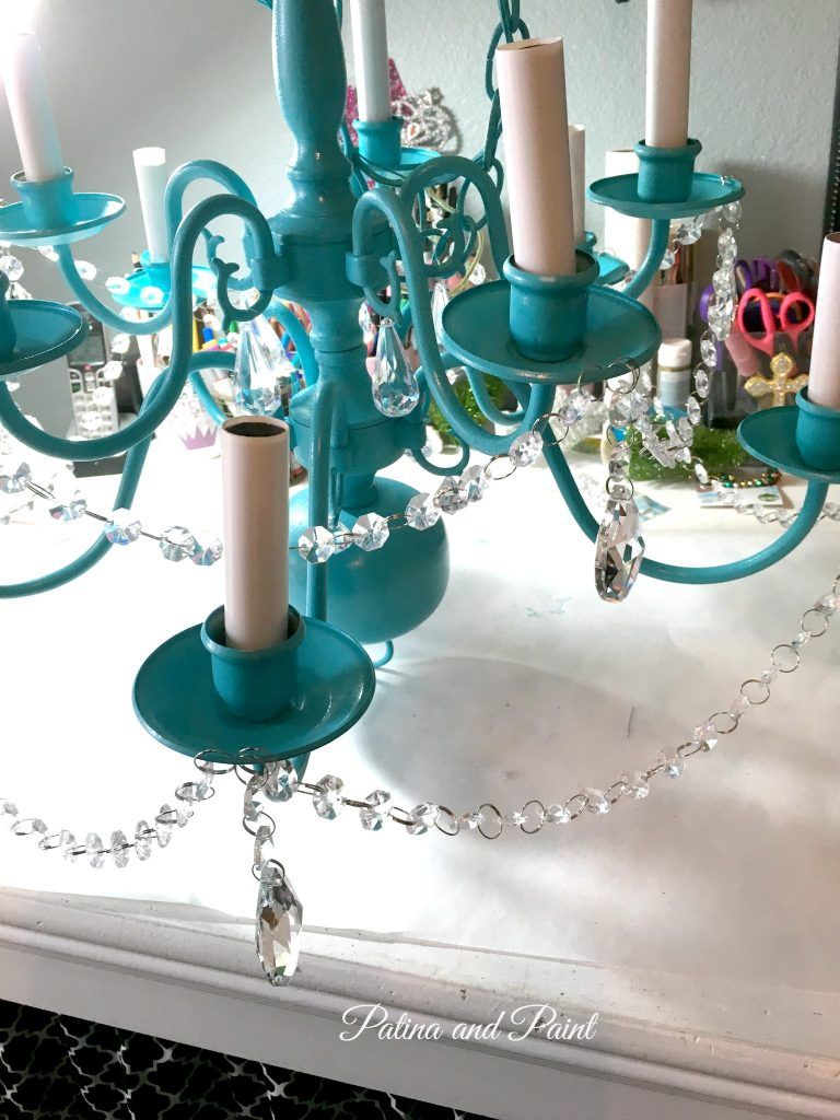 turquoise chandelier 7