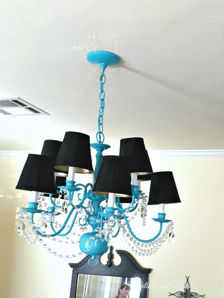 turquoise chandelier 8