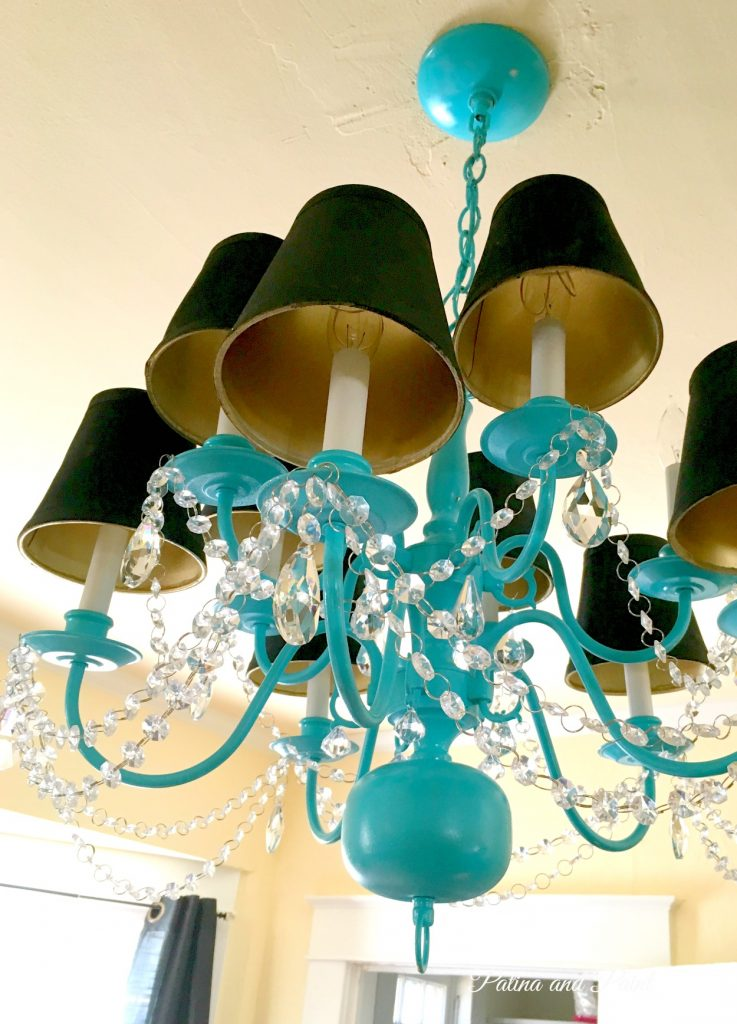 turquoise chandelier 9