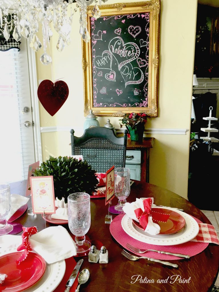 valentines kitchen