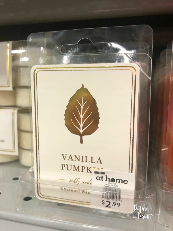 pumpkin vanilla candle melts